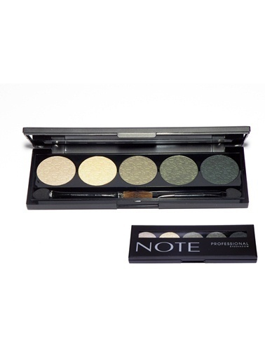 Note Note Professıonal Palet 5 Li Eyeshadow Göz Farı No 103 Renkli